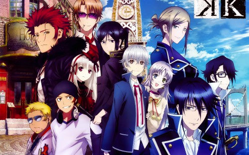 k project anime k memory of 4488